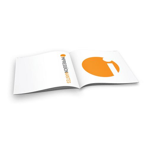 Brochure a5 impressionnantes - Papier couche brillant 135g ...