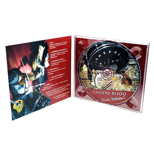 Digipack format CD 2 volets 1 plateau