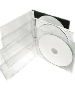 Boîtier CD cristal slim transparent