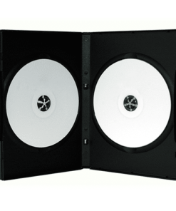 Boitier DVD double noir