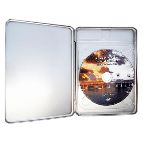 Boîtier métal DVD