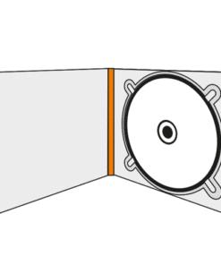 Digipack format CD - 2 volets - 1 plateau
