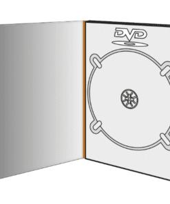 Digipack format DVD - 2 volets - 1 plateau