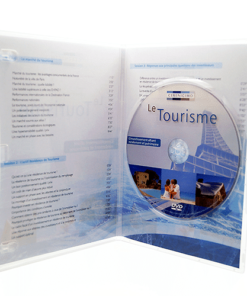 Boîtier DVD slim transparent