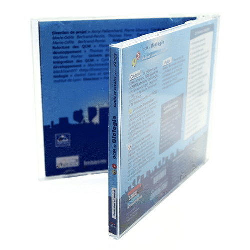 Boîtier CD cristal