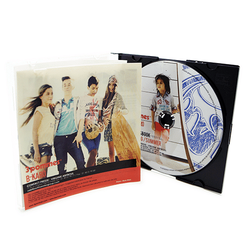 Boîtier CD cristal slim