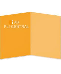 A3 Pli central