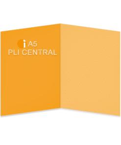 A5 Pli central