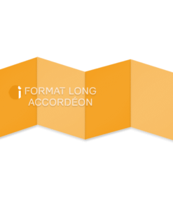 Format long accordéon