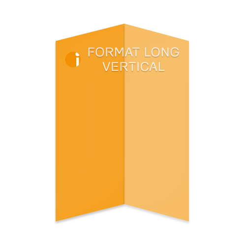 Format long vertical
